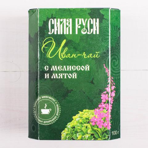 Иван-чай с мелиссой и мятой, «Сила Руси» 100г