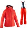 Женский горнолыжный костюм  8848 Altitude Leonor/Poppy (neon red)