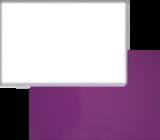 Фасад Белый глянец/Виолетта глянец 2 категория