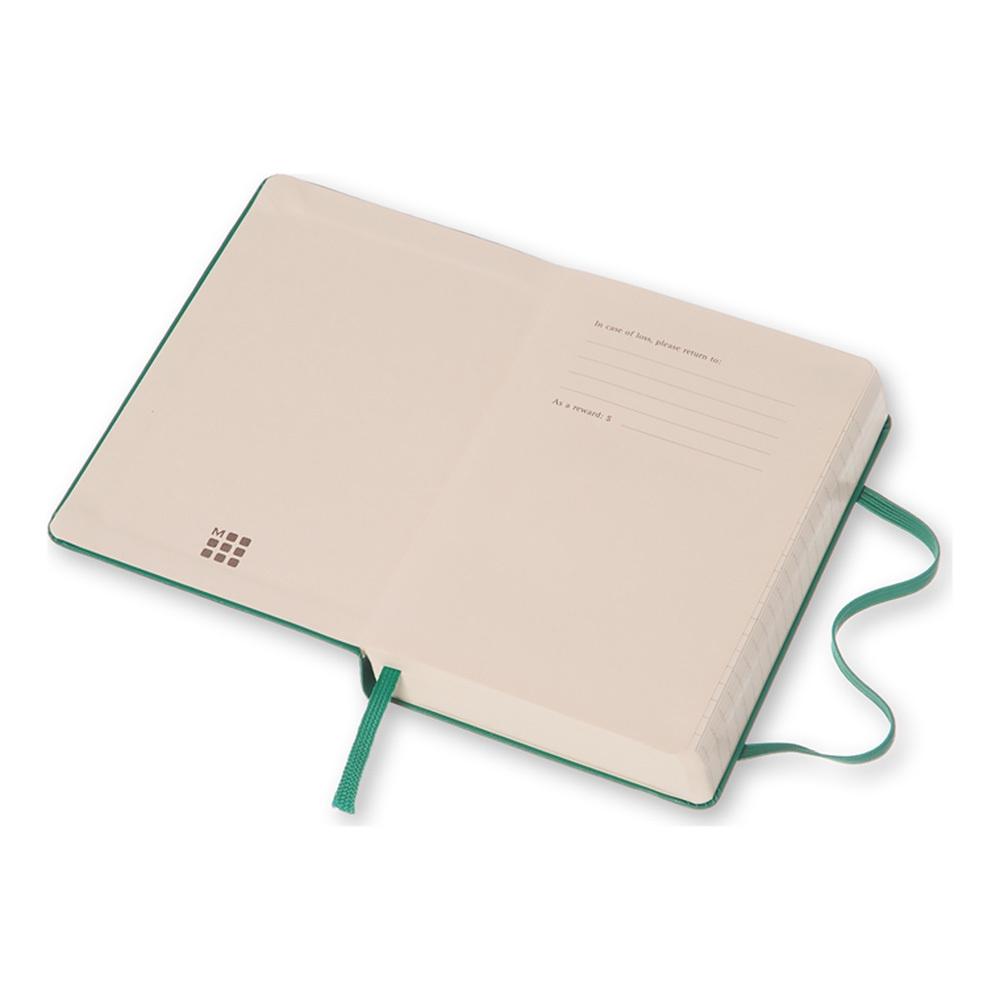 Еженедельник Moleskine Classic Wknt Pocket, цвет зеленый малахит