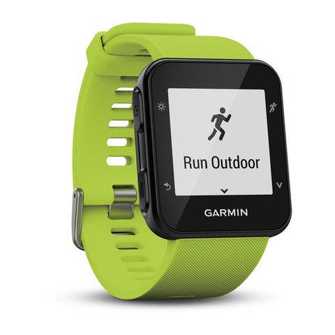 Беговые часы Garmin Forerunner 35 светло-зеленые
