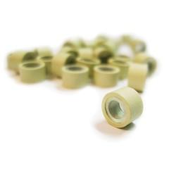 Balmainhair Набор микро-колец для наращивания по системе Double Hair цвет бежевый