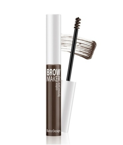 BelorDesign Brow Maker Тушь для бровей тон 12 (Шатен)