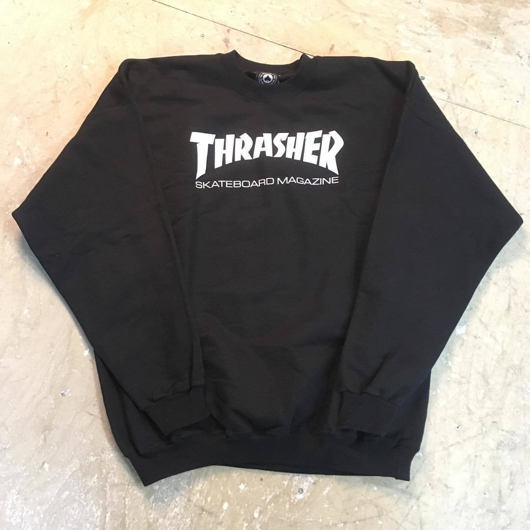 Свитшот Thrasher Skate Mag black
