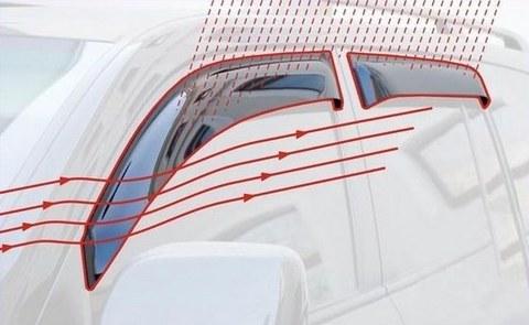 Дефлекторы окон Daihatsu Sirion (М2)5dr Hb (2005 - г.)
