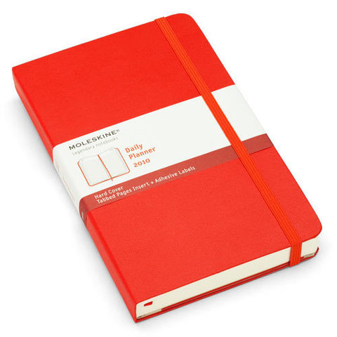 Moleskine Red Daily Large 2010