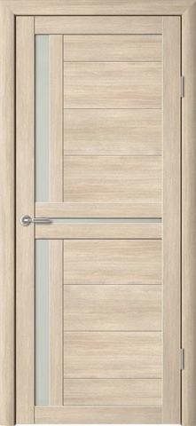 Дверь Фрегат ALBERO Кельн, стекло матовое, цвет лиственница мокко, остекленная