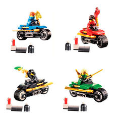Minifigures Phantom Ninjago Bonezai with Motorcycle 202