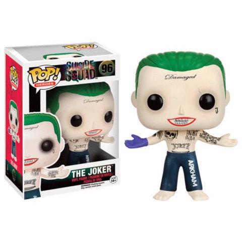 Pop! Suicide Squad Joker  Vinyl Figure || Джокер топлес из к/ф