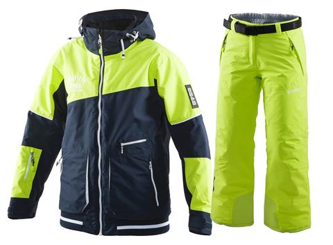 Детский горнолыжный костюм 8848 Altitude Meganova/Inca (lime)