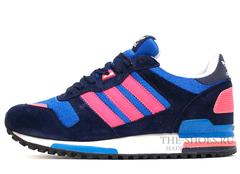 Кроссовки Женские Adidas ZX 750 Black Blue Pink