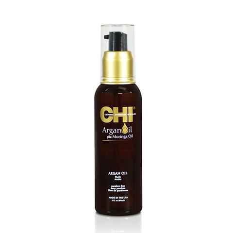 CHI Argan Oil Plus Mooring Oil - Восстанавливающее масло для волос