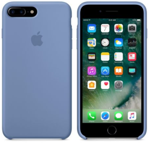 iPhone 7Plus/8Plus Silicone Case Светло Синий
