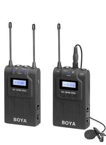 Накамерная радио микрофонная система Boya BY-WM8 PRO-K1