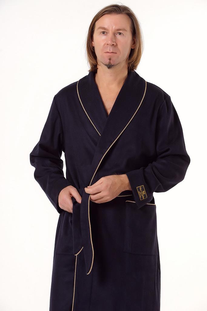 Теплый халат премиум класса B&B (Мужские халаты)