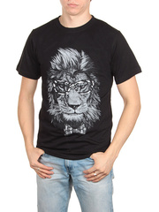 18712-1 футболка мужская, черная