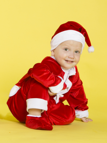 Костюм Санта Клаус малыш 2