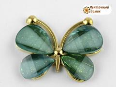 Декор Бабочки из камней еловые (уценка)
