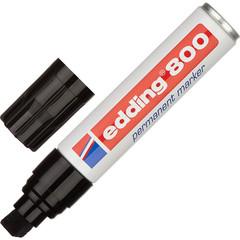 Маркер перманентный EDDING E-800/1 черный 4-12мм с плоским наконеч.