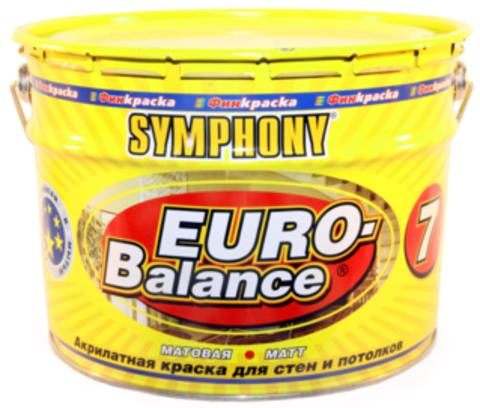 SYMPHONY EURO-Balance 7 - акрилатная матовая краска