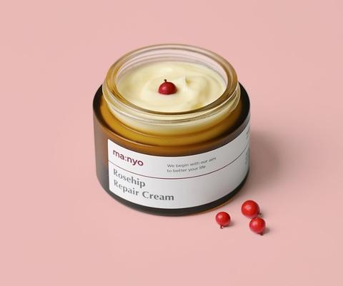 Крем для лица с экстрактом шиповника, 50 мл / Manyo Rosehip Repair Cream