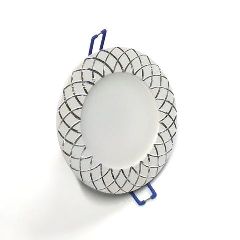 Светодиодный Led светильник встраиваемый Feron AL 780 Белый (круглый) 7W 4000K