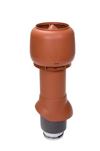 Вентиляционный выход 125 из 500 Vilpe кирпичный