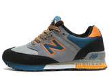 Кроссовки Женские New Balance 576 Three Peaks Grey Orange Black