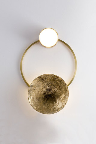 Wall lamp Gioielli 01 by Giopatto & Coombes