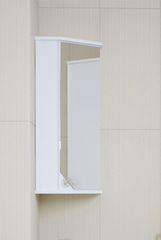 Шкаф подвесной угловой Corozo Флоренция 40 с зеркалом