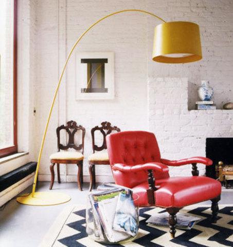 replica Twiggy Floor Lamp ( ORANGE )