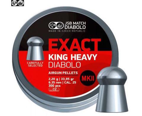 JSB Exact King Heavy MK II 6,35/2,2