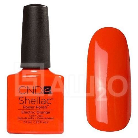 SHELLAC Electric Orange 7.3ml.