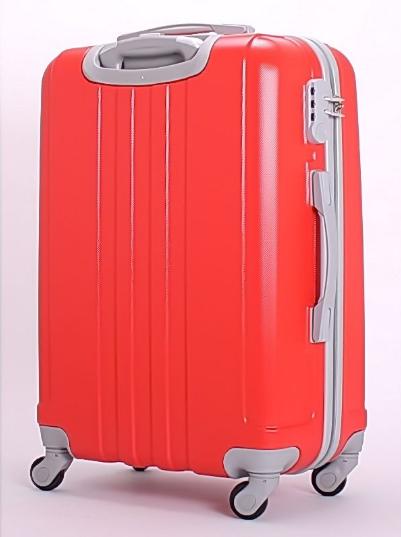 Чемодан Ananda 533 Красный (M)