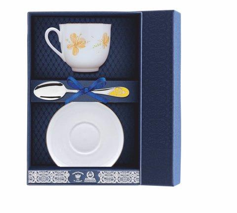 Набор чайный «Ландыш-Желтые цветы» 3пр.