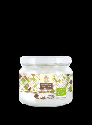 Organica for all. Органическое кокосовое масло холодного отжима (250 г.)