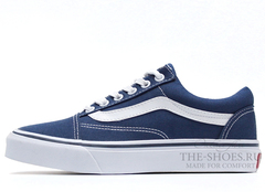Кеды Vans Low Old School Navy