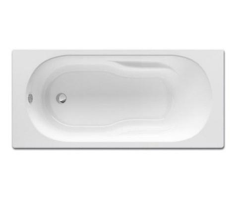 Ванна акриловая прямоугольная Genova N 1500x750x450 Roca с монтажным комплектом ZRU9302894