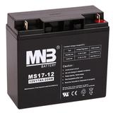 Аккумулятор для ИБП MNB MS17-12 (12V 17Ah / 12В 17Ач) - фотография