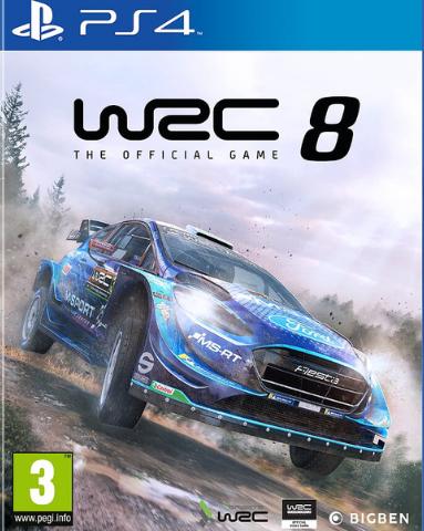 PS4 WRC 8 Collector Edition (русские субтитры)