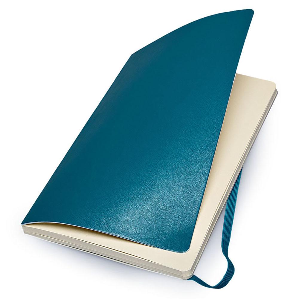 Блокнот Moleskine Classic Soft Large, цвет бирюзовый, в линейку