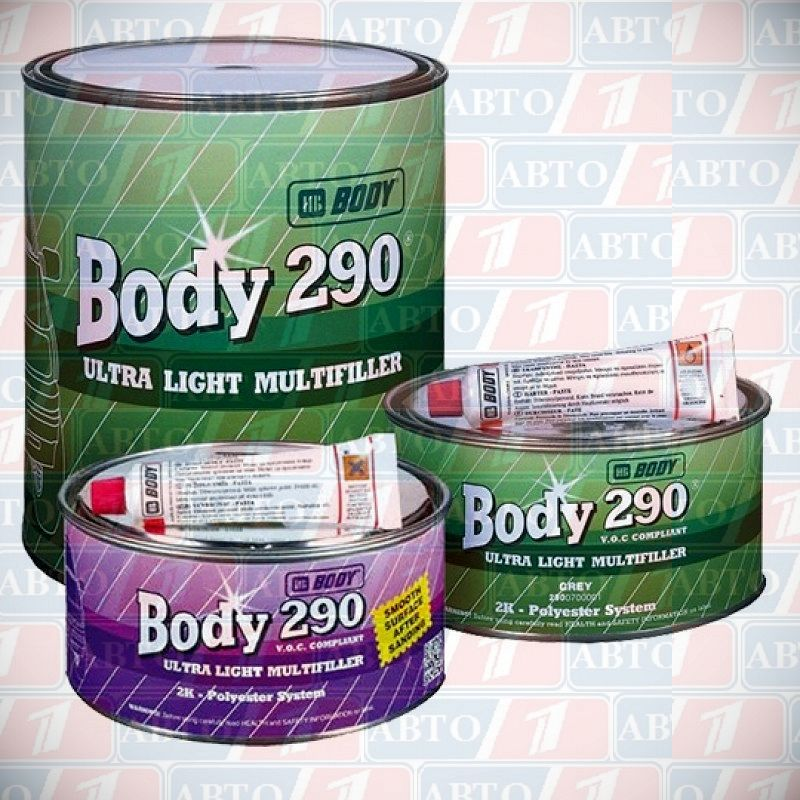 body 290 ultra light multifiller