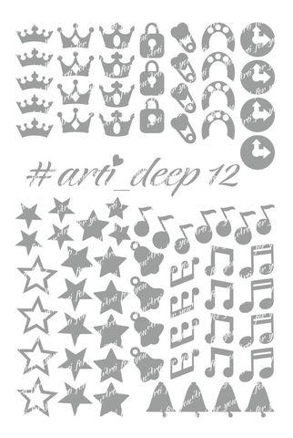 Трафарет Arti Deep № 12