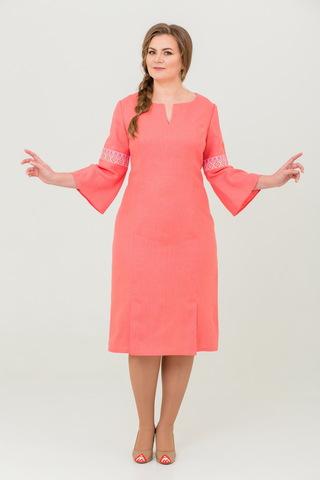 Платье льняное Царевна-лебедь