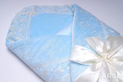 ARSI Комплект на выписку демисезонный Венеция (3 предмета) голубой