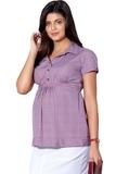 Блузка для беременных 01395 красный
