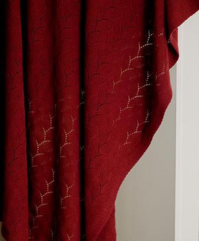 Элитный плед -покрывало Imperio 140 бордовый от Luxberry