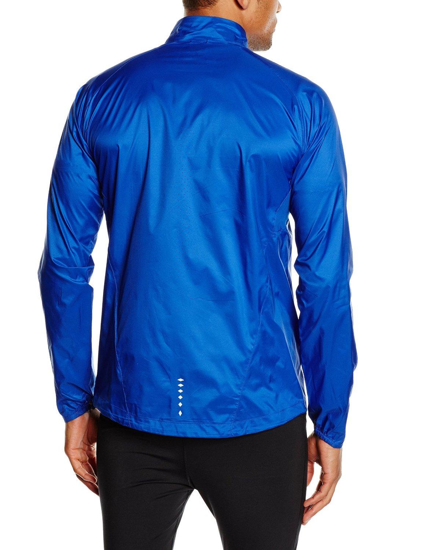 Мужская ветровка асикс Woven Jacket blue (121603 8107)