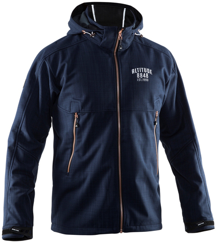 Куртка лыжная 8848 Altitude Hybrid Softshell navy мужская