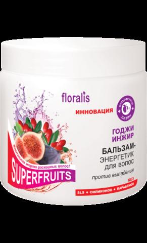 Floralis Superfruits Бальзам-энергетик для волос «Годжи и Инжир» 500г